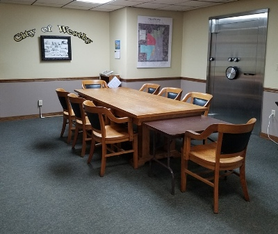 City Council Table
