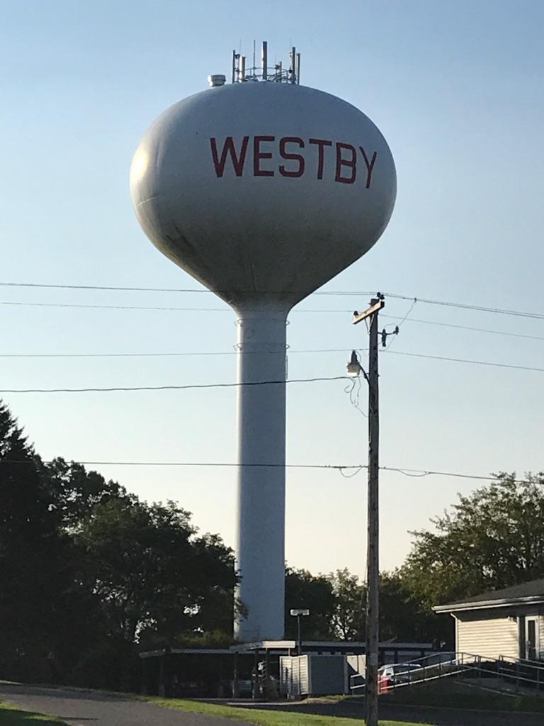 Westby Water Tower